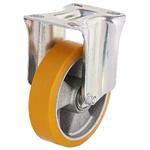 Колесо большегрузное Tellure Rota 658603 неповоротное, ? 125 мм, грузоподъемность 350 кг, полиуретан TR, алюминий
