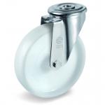 Колесо Tellure Rota 687703 поворотное, ? 125 мм, грузоподъемность 220 кг, полиамид