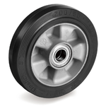 Колесо большегрузное Tellure Rota 721210 под ось, ? 160 мм, грузоподъемность 500 кг